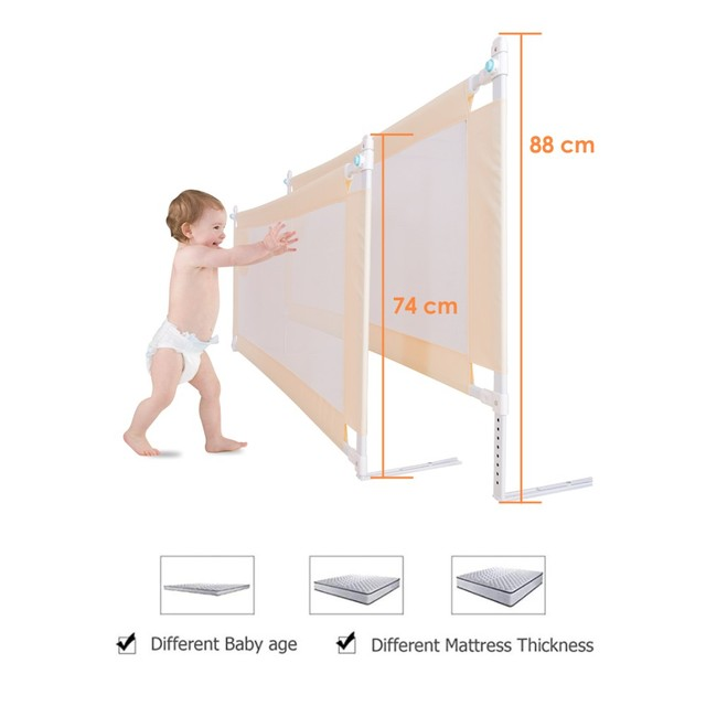 baby playpen bed safety rails for babies children fences fence baby safety gate crib barrier for bed kids  for newborns  infants 6