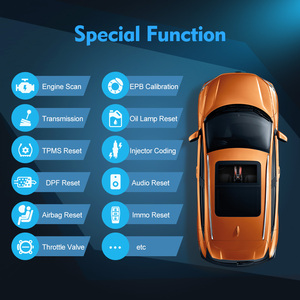 Image 3 - Ancel FX6000 OBD2 Scanner Professional Full System Code Reader Auto Auto Diagnose Werkzeuge ABS Öl Reset OBD 2 Automotive Scanner