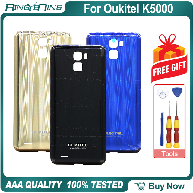 100% New Original Battery Cover For Oukitel K5000 Back case Protective Smartphone Repair Replacement Accessories Parts