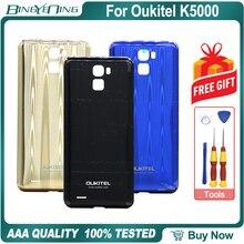 100% yeni orijinal pil kapak Oukitel K5000 case arka koruyucu akıllı telefon tamir yedek aksesuarları parçaları