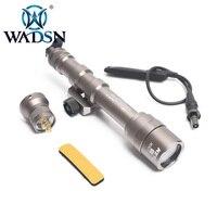 WADSN тактический фонарь Surefir M600AA мини-скаутский свет светодиодный дистанционный переключатель давления M600 винтовочный фонарик WEX400 Оружие Ог...
