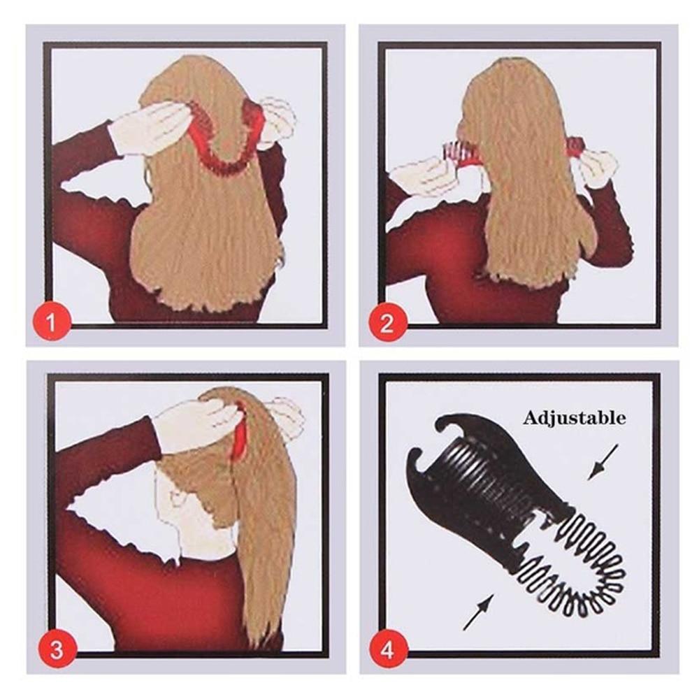 1PC-Woman-Elastics-Hair-Braider-Banana-Clip-Scorpion-Type-Hair-Holding-Tool-Ponytail-Rubber-Bands-Hair (4)