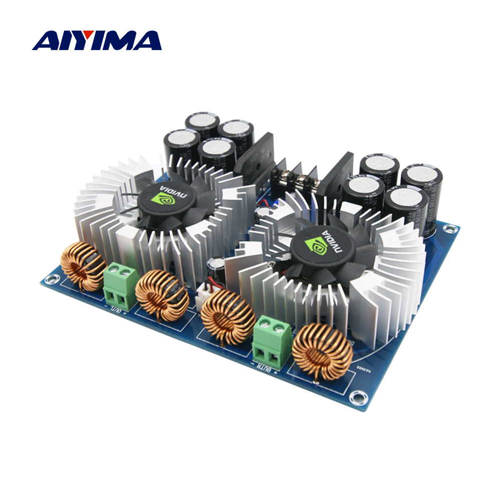 AIYIMA TDA8954TH Digital Audio Amplifier Board Class AD Amplificador 420Wx2 Stereo Amp BTL Power Amplifier For Home Theater