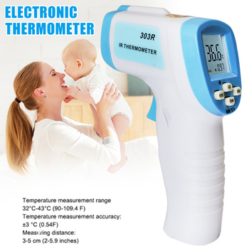 Infrared Thermometer No-contact Digital Thermometers for Forehead Temperature Meter Measuring J2Y