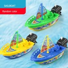 1 шт. скоростной корабль, заводная игрушка, поплавок в воде, детские игрушки, Классические заводные игрушки, зимняя игрушка для душа, для дете...