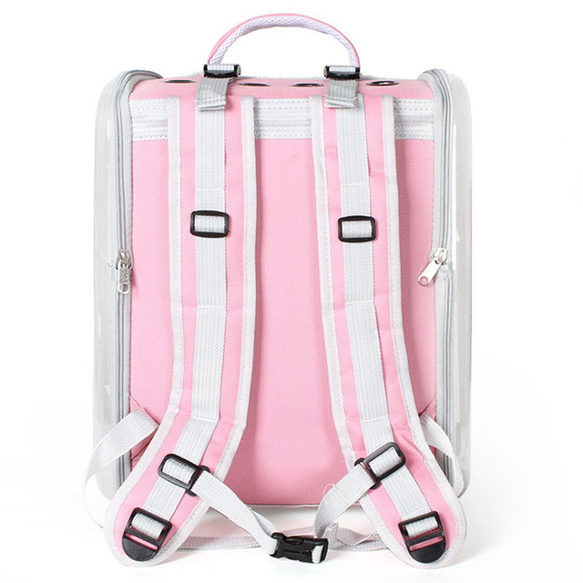 Cat Carrier Backpack Breathable Pet Travel Kennel 5