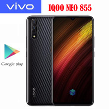 Original officiel Vivo IQOO Neo 855 SmartPhone Snapdragon 855 6.38 pouces 6G 128G Super AOLED 33W Super chargeur 4500Mah NFC(China)
