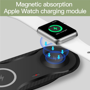 Image 4 - FDGAO 2 in 1 10W Qi Wireless Charger Docking Station Watch Charger Fast Charging Pad For Apple Watch 2/3/4/5 iPhone 11 Pro X Xs