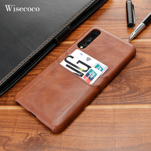 Luxury Card Holder Case for Huawei P40 P20 Pro Leather Wallet Shockproof Hard Back Cover for Huawei P30 Mate 30 20 10 9 Pro Case