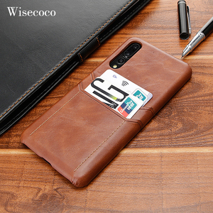 Luxury Card Holder Case for Huawei P40 P20 Pro Leather Wallet Shockproof Hard Back Cover for Huawei P30 Mate 30 20 10 9 Pro Case(China)