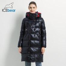 2019 nowa zimowa kurtka damska moda kobieta bawełna wysokiej jakości kobiet parki z kapturem damskie płaszcze odzież marki GWD19501