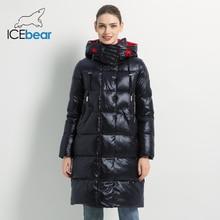2019 yeni kış kadın ceket moda kadın pamuk yüksek kaliteli kadın Parkas kapşonlu kadın mont marka giyim GWD19501