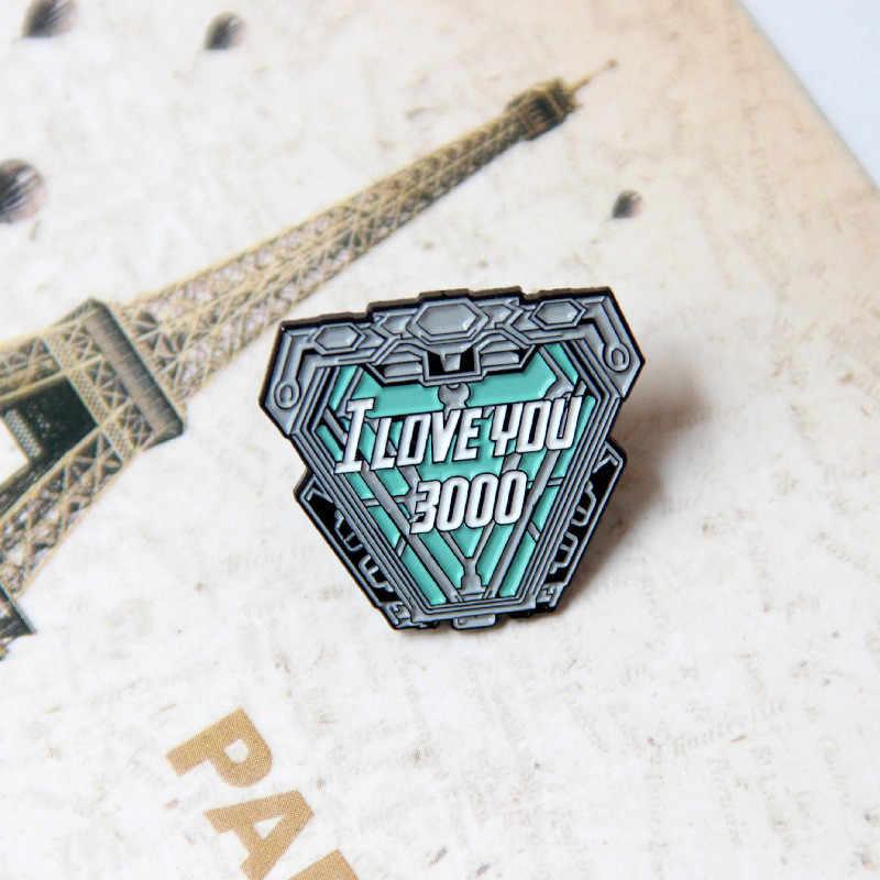 MD Mungil Logam Bros Pin Enamel Pin untuk Tas Ransel Pakaian Lencana Bros T-shirt Kerah Perhiasan