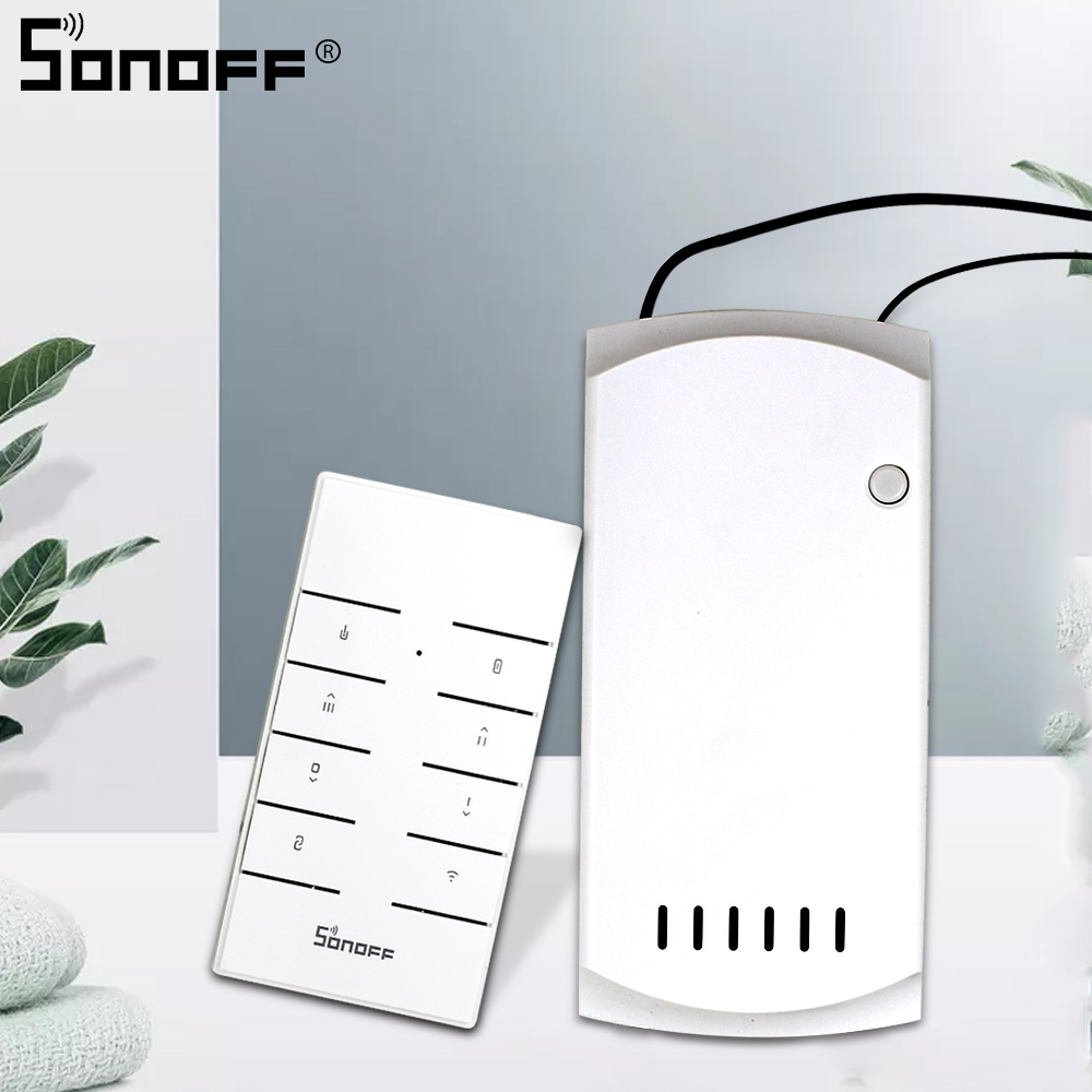 SONOFF IFAN03/RM433 Wifi Smart Ceiling Fan Dimmer Switch Fan With Led Light Speed Remote Control 433mhz Work With Google Home