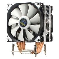 LANSHUO CPU Stille Dual Fan 6 Heatpipe 3 Draht CPU Kühler Lüfter für Intel LGA 2011 Selbst Enthalten backplane Motherboard auf