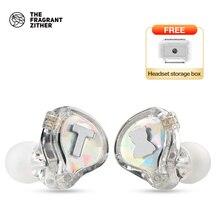 TFZ/S2 PRO, wysokiej jakości słuchawki HIFI, jednostka generacji TFZ 2.5, 105dB mW, uniwersalne douszne słuchawki telefoniczne