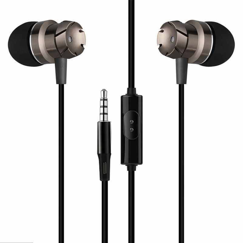 for Xiaomi Mi A1 A2 Lite A3 5X Mix 2 Max Mix2 Max2 3.5mm Jack Headphone Bass Stereo Earphone Earpiece Earbud Headset with MIC