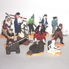 Model-Toys Miniature-Accessories Figurine Artillery Caribbean Pirates Decor Gunner First-Mate