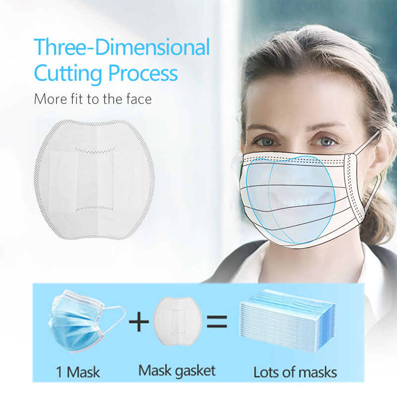 Anti Dust Mask Filter Pad Disposable Anti Influenza Covers Face Mouth Mask Personal Health Care Supplies