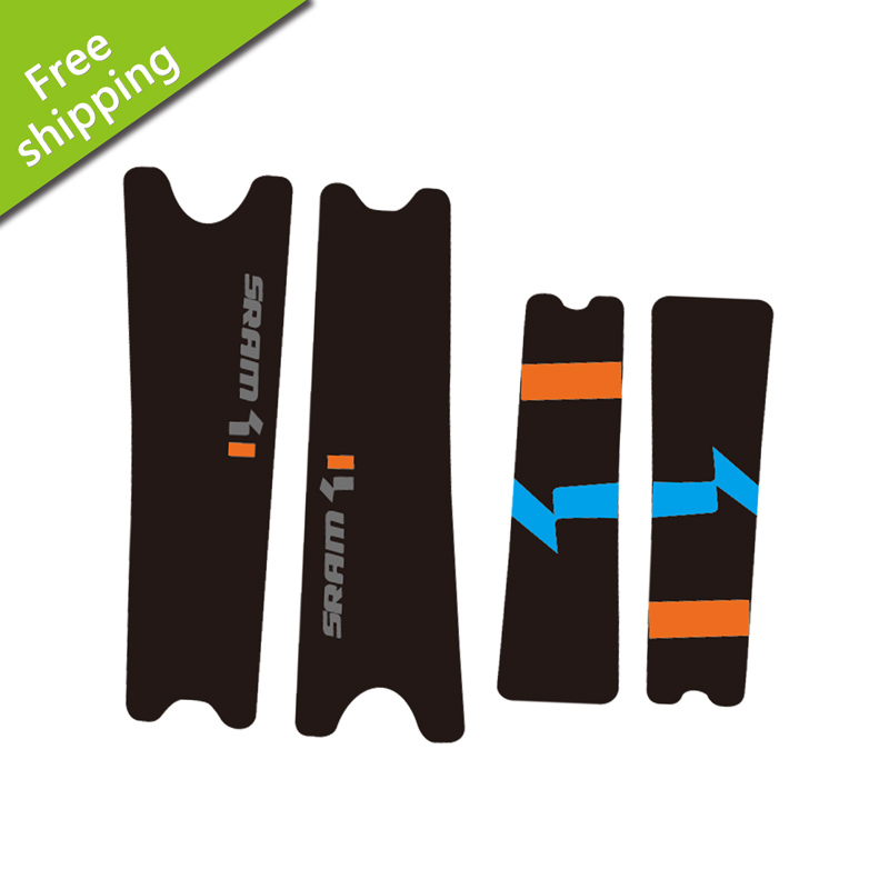 SRAM xo1 bike Crank arm Stickers mtb bycicle decals racing cycling accessories Vinyl waterproof protect sticker Free shipping