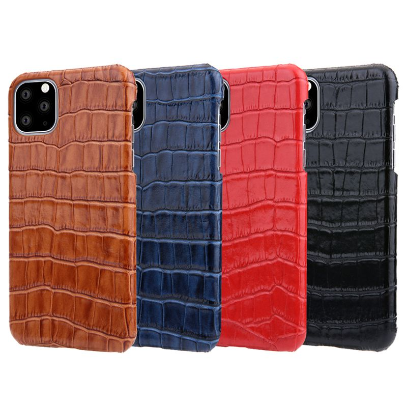 Luxury Genuine Cow Leather Case For iPhone 12 Pro Max