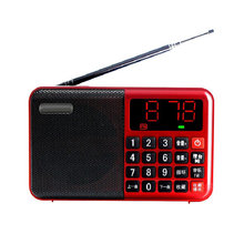 Portable card mp3 radio Mini FM Radio Bluetooth Portable Speaker MP3 TF Card USB Music Player Boombox(China)