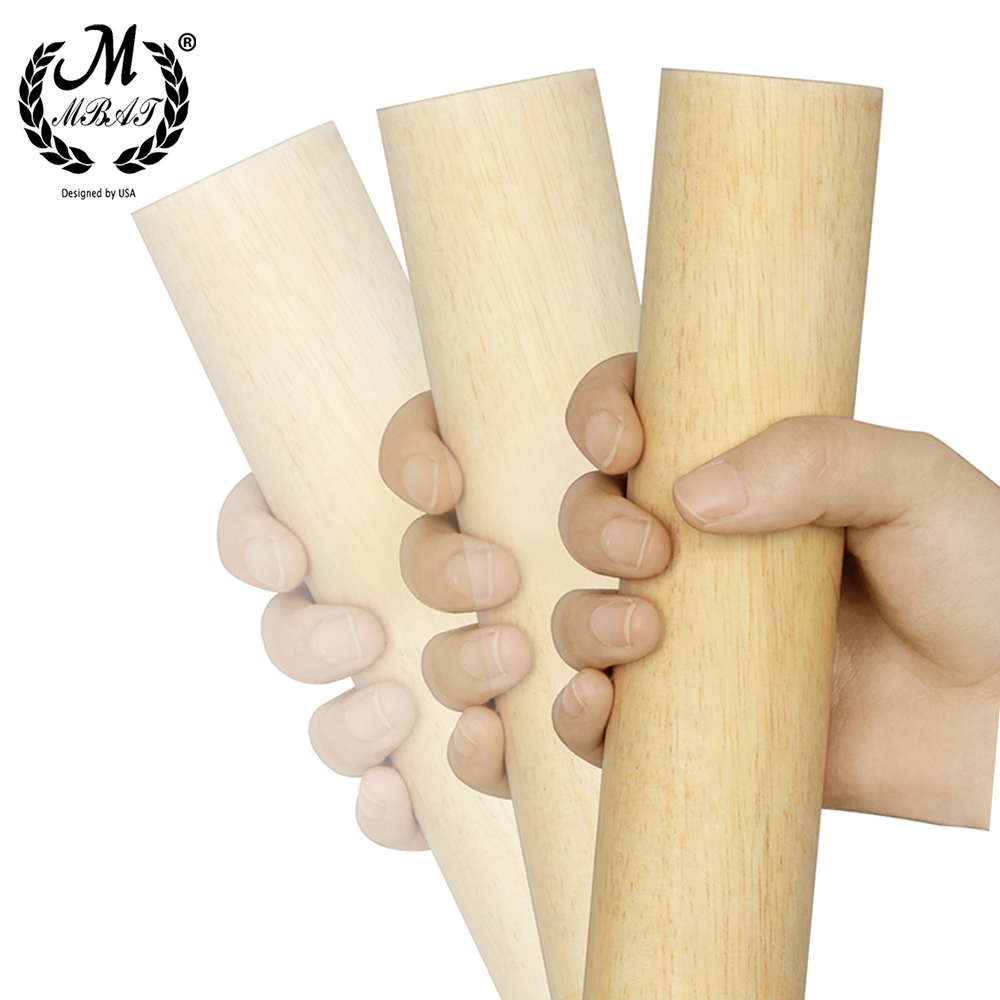 M MBAT MJ-10 Wood Color Percussion Orff Sand Tube Shaker Child Education Musical Instrument Parts Round Percussion Instruments