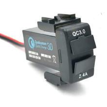 Автомобильный интерфейс usb зарядное устройство с двумя портами
