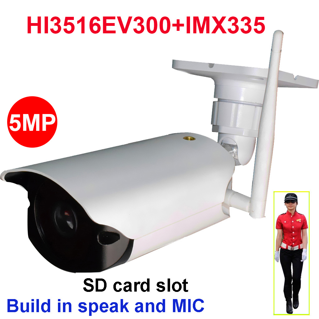 CamHi SONYIMX335 starlight 5MP wireless wifi ip camera humanoid recognition outdoor IR security camera 128GB SD card speaker MIC