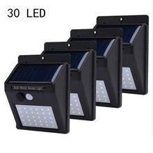 Уличсветильник садовые фонари на солнечной батарее 30 светодиодов