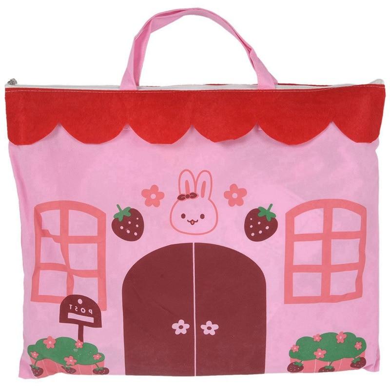 Playhouse Girl City House Kids Secret Garden Pink Play Tent Great Gift