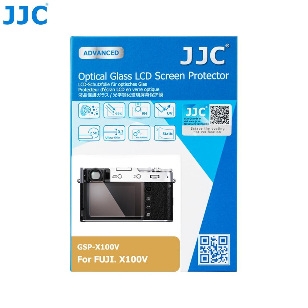 JJC Anti-Scratch Tempered Glass Camera Screen Protector For FUJIFILM X100V Mirrorless Camera 0.01
