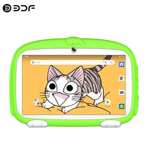 New 7 Inch Kids Tablets Android 8.0 Quad Core Google Play WiFi Bluetooth Dual Camera 16GB Children's favorites gifts tablet pc