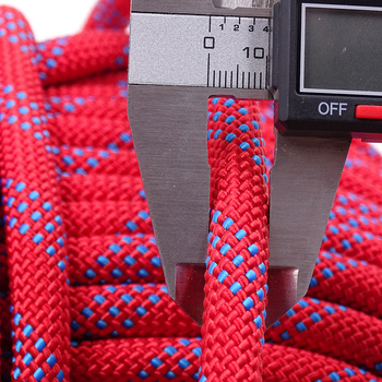 50m Static Rock Climbing Rope 10mm Tree Wall Climbing Equipment Gear Outdoor Survival Fire Escape Rescue Safety Rope 10m 20m 30m 3