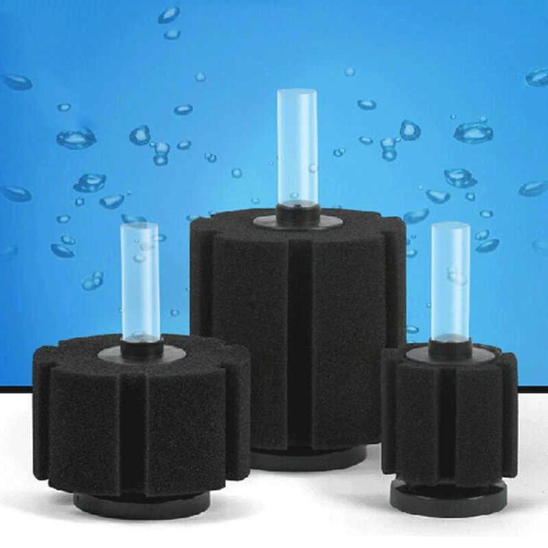 Filtro de acuario tanque de peces bomba de aire Skimmer bioquímico filtro esponja acuario Filtro de filtración mascotas acuáticas productos de pescado