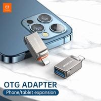 MCDODO-Convertidor de Cable USB a Lighting OTG, convertidor de Cable hembra para iphone 12 11 Pro Max 6 6s 7 8 Plus iPad, tarjeta SD, sincronización de datos de disco U