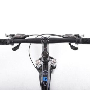GMINDI 26-дюймовый горный велосипед с 24-скоростной регулируемой рамой из углеродистой стали, двойной дисковый тормоз, студенческий гоночный ве...