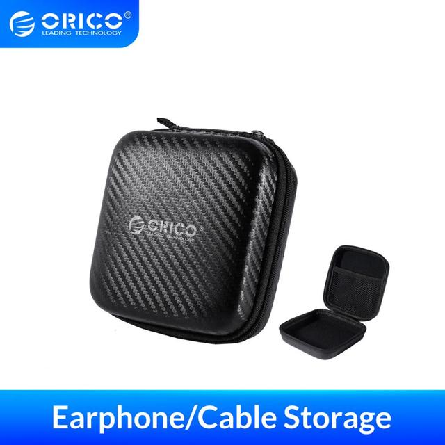 ORICO Auricolare Custodia Borsa della Cuffia per USB Caricatore Cavo Degli Auricolari Accessorries di Stoccaggio