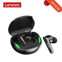 Lenovo TWS Gaming auricolare senza fili Bluetooth 5.1 sport cuffia connessione stabile HIFI musica auricolare TYPE-C di ricarica