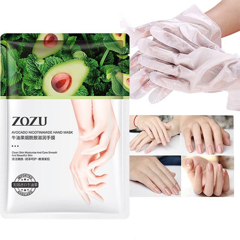 Никотинамид масла ши, мягкая гладкая маска для рук, маска для ног, мягкая увлажняющая питательная восстанавливающая отшелушивающая кожа TSLM2