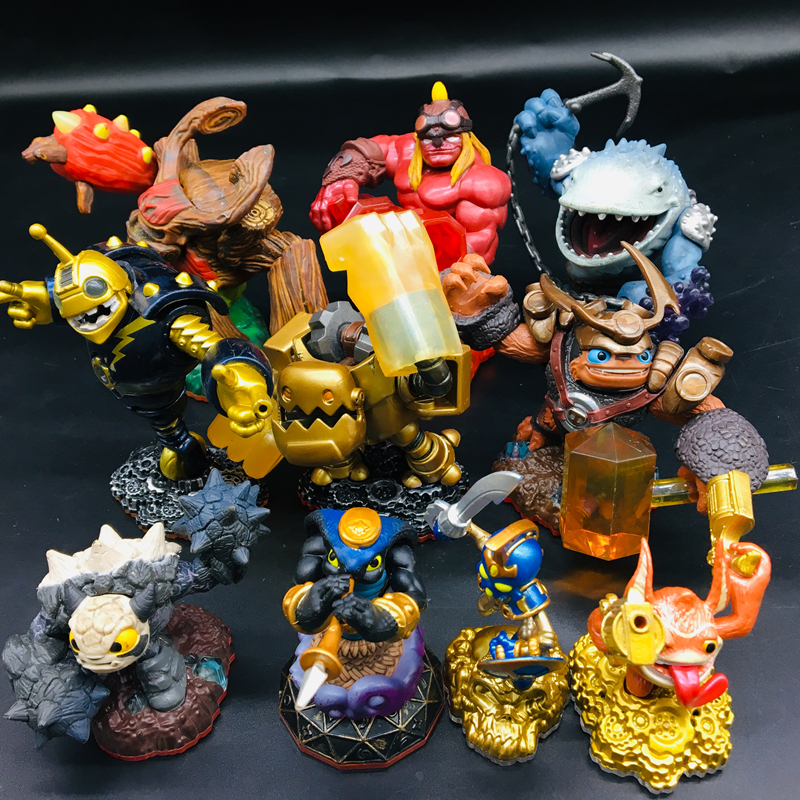 New Skylanders Spyro's Adventure Collect Team Tree Man Dragon Lightning Rod Action Figure Model Collection Toys For Kids