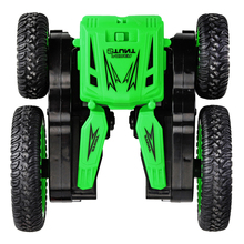 JJRC Q71 2.4G RC Double-Sided Rotating Car Charging Stunt Remote Control Deformation Toy With Light For Children
