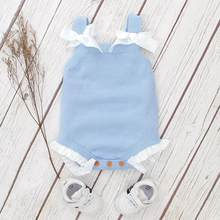 Body para bebê recém-nascido, body fashion infantil de malha, de verão, sem mangas, para bebês, 0-2t desgaste roupa