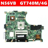 N56VB GT740M/4G Motherboard For ASUS N56V N56VZ N56VJ N56VV N56VB N56VM Laptop motherboard N56VM REV 2.3 Mainboard 100% Tested