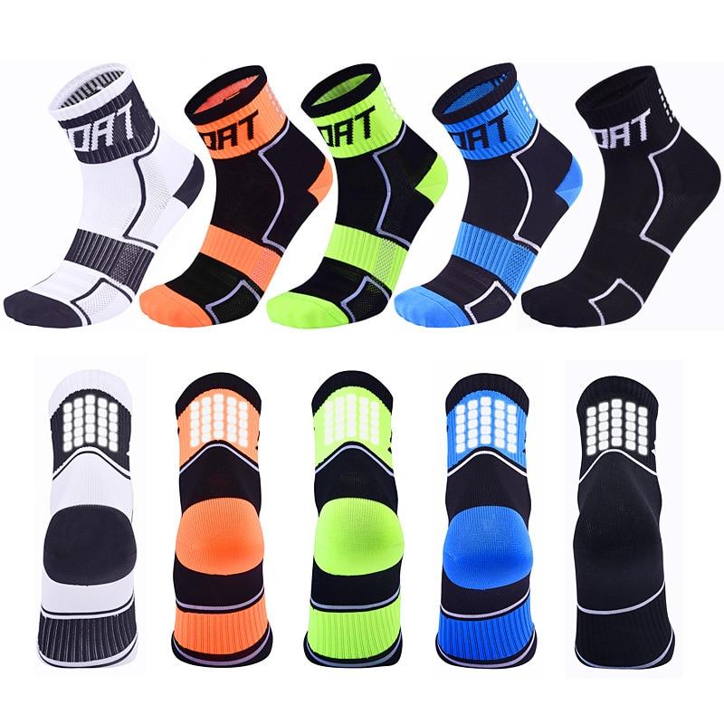 Mens Womens Riding Cycling Socks Bicycle Sports Socks Breathable Socks