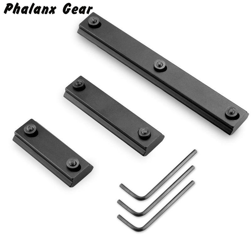Magoras Aluminum 1000-LOK Picatinny / Weaver Rail Handguard Rail Segment Sectie