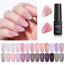 LILYCUTE 7ml Glitter Soak Off UV Gel Shimmery Highlights Semi Permanent Hybrid Nail Art Prime Polish
