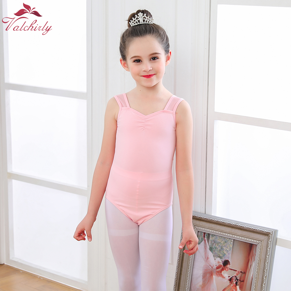2020 New Girls Ballet Leotard Dancewear High Quality Gymnastics Leotard Kids Ballerina Dance Costume