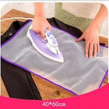 Термостойкая термоизоляционная прокладка для глажки, коврик, бытовой Защитный Сетчатый тканевый чехол, 2 размера, лидер продаж