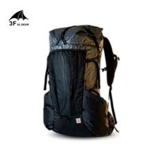 3F UL ギア越軽量丈夫なバックパックとフレーム 45 + 10L 屋外ハイキングキャンプ旅行トレッキングリュックサック男性女性